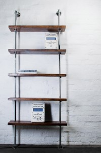 bespoke industrial bookcase