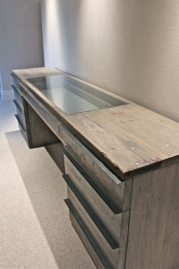 Glass Topped Dressing Table for jewellery display