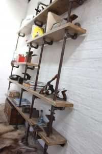 Urban Bespoke industrial shelving / bookcase