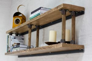 bespoke urban reclaimed shelving
