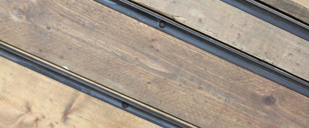 Reclaimed scaffolding board