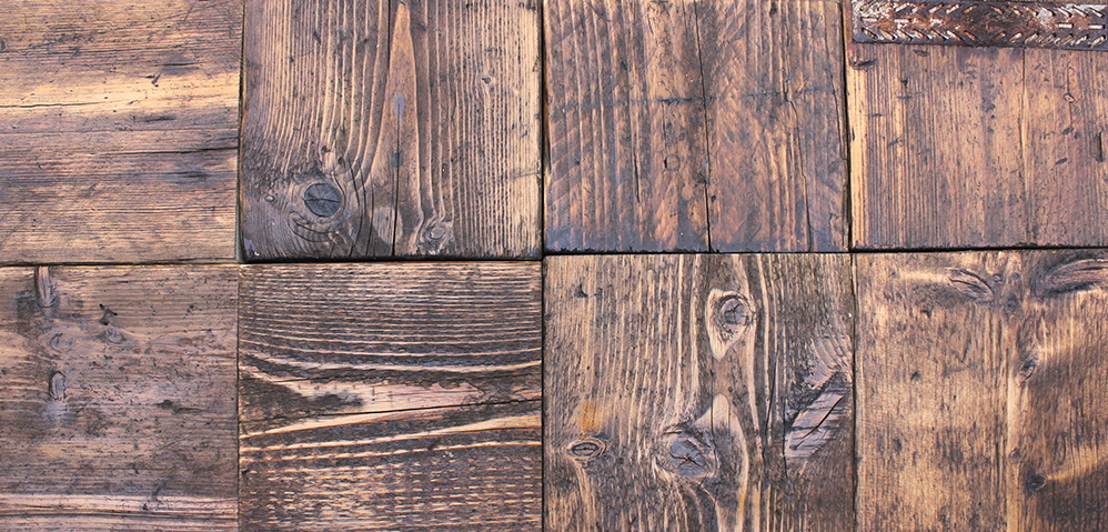 chestnut reclaimed scaffolding board