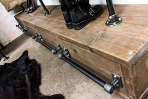 Bespoke Industrial reclaimed storage furniture